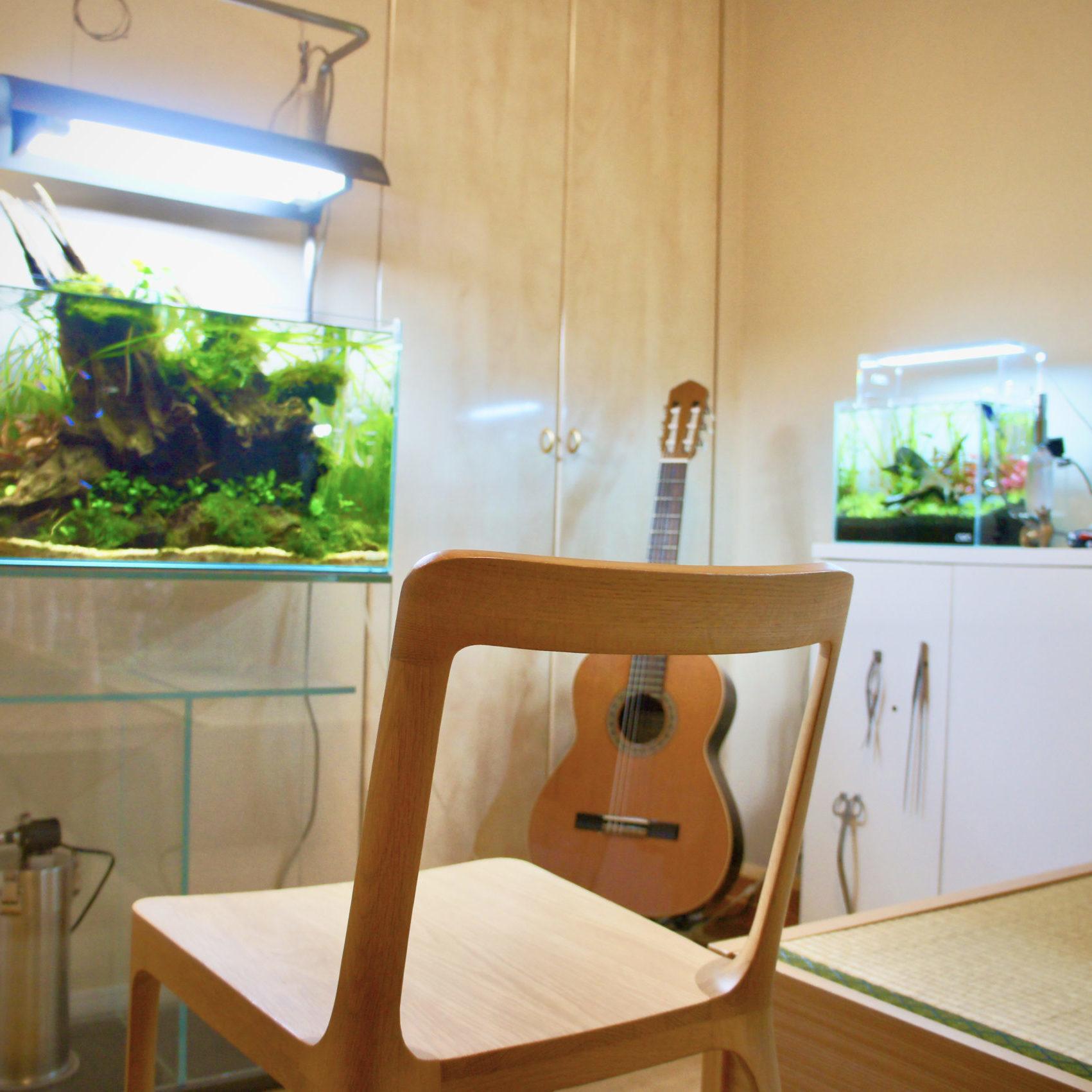Virtual Aquascape Gallery No.4 Aquascape ×  Tatami                               A Modern & Oriental Interior Design